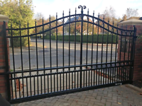 Driveway Gates and Fencing  Flange welding, Pipe welding