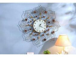 Antique look Metallic Copper Wall Clock
