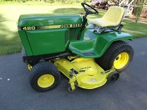 Looking for John Deere 420 445 or 320 lawn tractor to restore