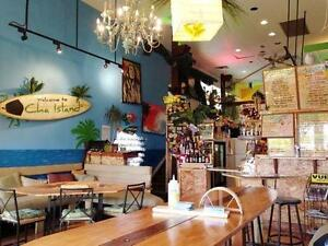 CHA ISLAND CAFE & LOUNGE FOR SALE - OFF WHYTE AVENUE