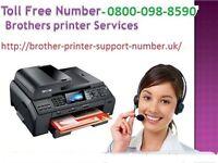 Contact us   0800-098-8590   Brother Printer Contact Number UK