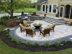 WE DESIGN & INSTALL DECK FOR FIREPITS  & HOT TUBS - L.Martin