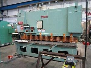 SHEAR ALLSTEEL 120'' X 3/4'' (USED)