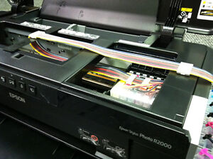 Continuous Ink Supply System CISS for Epson R2000+++800 ml Ink,