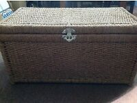 Wicker Basket Trunk Heavy Duty Large