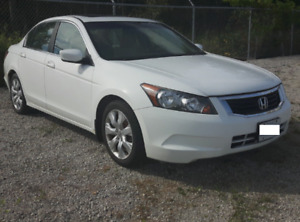 2010 Honda Accord Sedan  121,548km