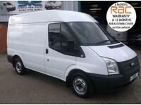 2013 FORD TRANSIT 280 SWB MEDIUM ROOF ELEC PACK FULL SERVICE HISTORY PX WELCOME