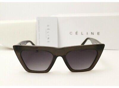 NEW CELINE CL41468/S - 807/IR Black Cat Eye Women Sunglasses 100% (Celine Cat Eye Sunglasses)