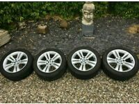 "GENUINE BMW F30 17"" SPORT ALLOYS 3 SERIES 1 SERIES"
