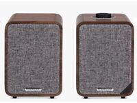 Ruark MR1 MkII Bluetooth Speaker System, Walnut