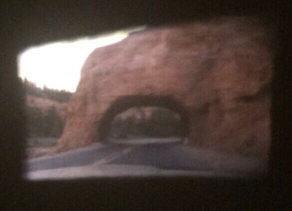 Zion National Park Checkerboard Mesa Nature Standard 8mm Home Movie Film Reel