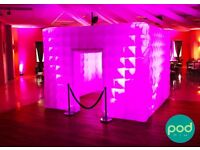 **Professional PHOTO FUN BOOTH Hire - Weddings/Mehndi/Birthday/Parties PhotoBooth MIDLANDS - UK