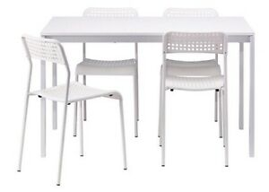 Ikea 4 seats table unfolded (chairs are not included) Wollstonecraft North Sydney Area Preview