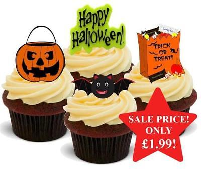 Halloween Cute Childrens Mix Stand Up Premium Card Cake Toppers](Halloween Mix Up)