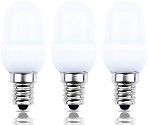 Bonlux 0.5 Watts LED C7 Night Light Bulb Candelabra E12 Base