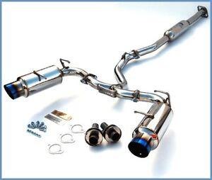 Invidia N-1 Exhaust with Titanium Tips Subaru BRZ and Scion FRS