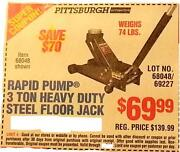 Harbor Freight Floor Jack Coupon