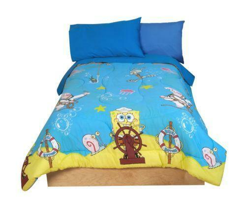 Spongebob Comforter Bed Set
