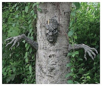 Scary Tree Man Outdoor Garden Decoration Party Yard Haunted Forest Theater Prop](Scary Outdoor Halloween Props)