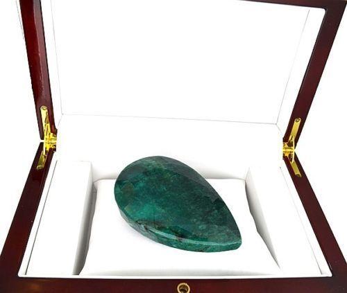 Pear Cut Green Beryl Emerald Gemstone, Appraised at $8,300.00 1033.40CT