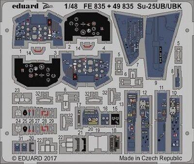 Eduard Zoom FE835 1/48 Sukhoi Su-25UB/UBK Frogfoot Smer