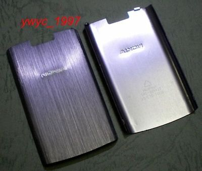 Battery Back Cover Case for Nokia X3-02 purple ()