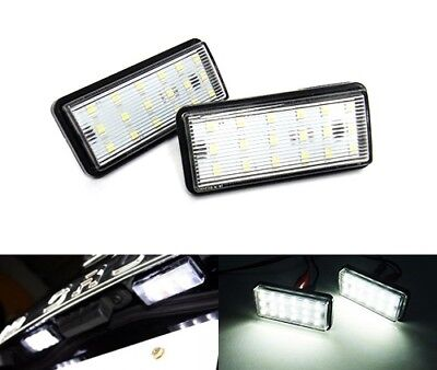 Toyota Land Cruiser Amazon 98+ Led Licence Number Plate Light White Lexus Lx Gx