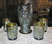 Carnival Glass Water Sets