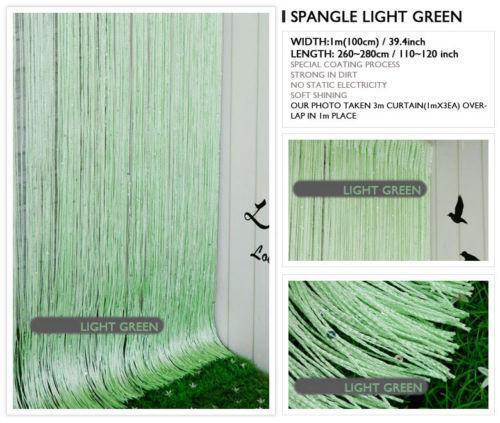 light green curtains ebay