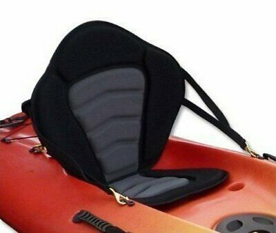 Pactrade Marine Adjustable Padded Deluxe Kayak Seat Detachable Back