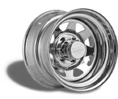 CRT Chrome Spoke 14X6 Trailer Wheel - S64-46655