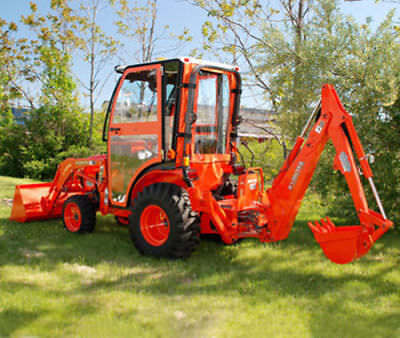 Complete Curtis Soft Sided Cab System For Kubota B3200 1kb32ss