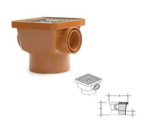 Drainage Gulley Pipe Fittings Ebay