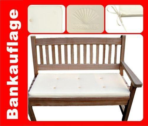sitzauflage gartenbank auflagen ebay. Black Bedroom Furniture Sets. Home Design Ideas