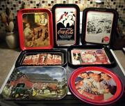 Coca Cola Tray Lot