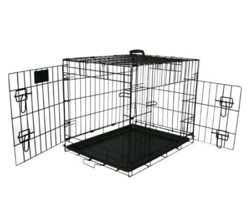 Folding Wire Dog Crates Ebay