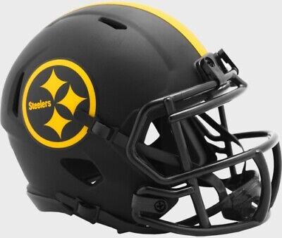 Pittsburgh Steelers Eclipse Alternate Riddell Speed Mini Helmet New in box