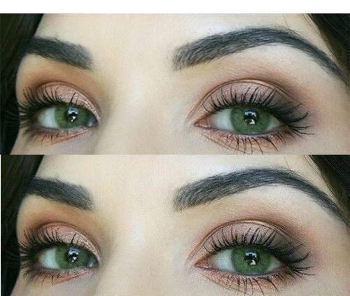 Farbige grüne Silikon Kontaktlinsen mit ohne Stärke weich Jasmine grün natürlich