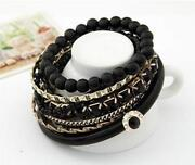 Black Bangle Set