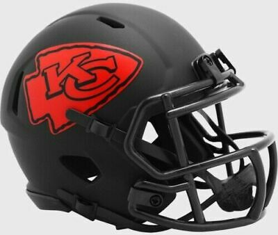 Kansas City Chiefs Eclipse Alternate Speed Mini Helmet Replica Riddell