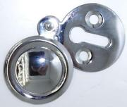 Chrome Keyhole Cover