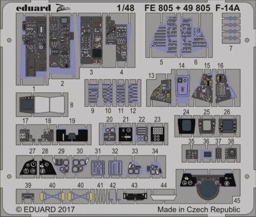 eduard FE805 1/48  F-14A Tomcat for Tamiya
