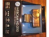 HP webcam HD-3110 BNIB