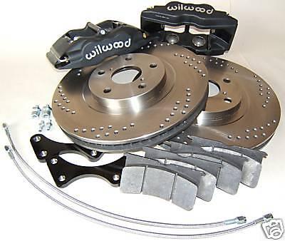 Big Brake Kit Cadillac Catera All 14 4 piston Wilwood calipers