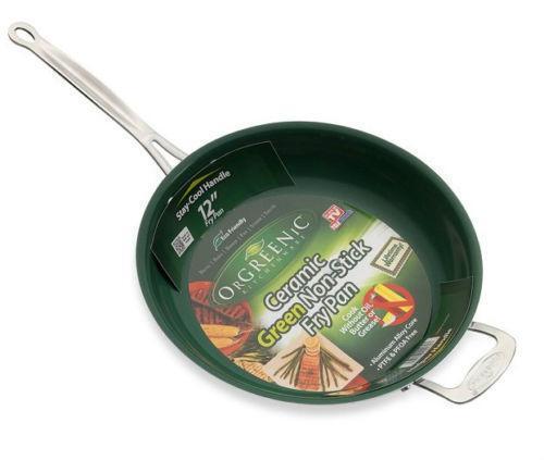 Non Stick Frying Pan Green Ebay