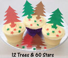 Christmas Brown Cake Toppers