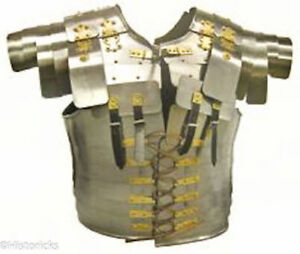 Roman-Lorica-Segmentata-Armour-for-Re-enactment-Role-Play-Fancy-Dress-Larp-SCA