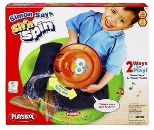 Used Playskool Simon Says Sit'n Spin Interactive Game