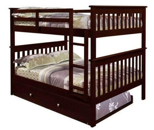 Solid Wood Bunk Bed Ebay