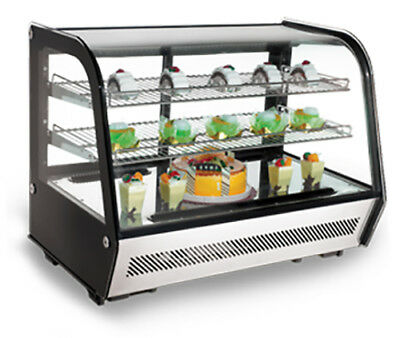 Omcan 27157 Countertop Commercial Refrigerated 35 Display Rs-cn-0160